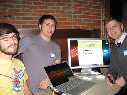 SocialThing! demos at TECH cocktail Boulder 1