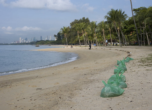 Litter on East Coast Park
