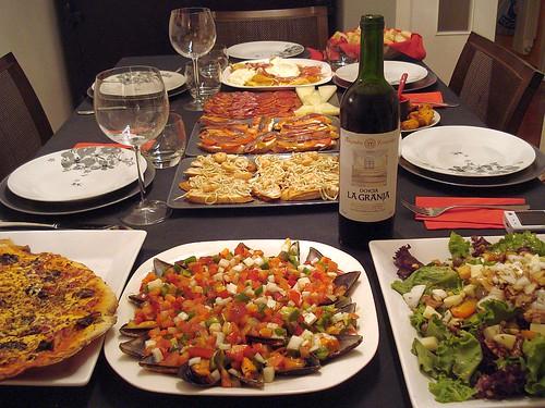 Secretos y consejos de la cocina taringa - Cena con amigos en casa ...