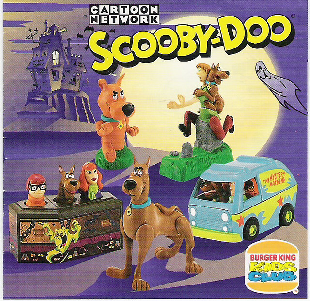 Scooby Doo Burger King kids meal toys 1996 Flickr   Photo Sharing IP4wVPNf