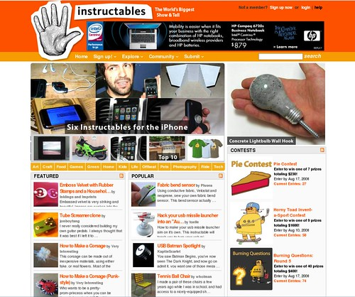 inklings and imprints blog featured on instructables