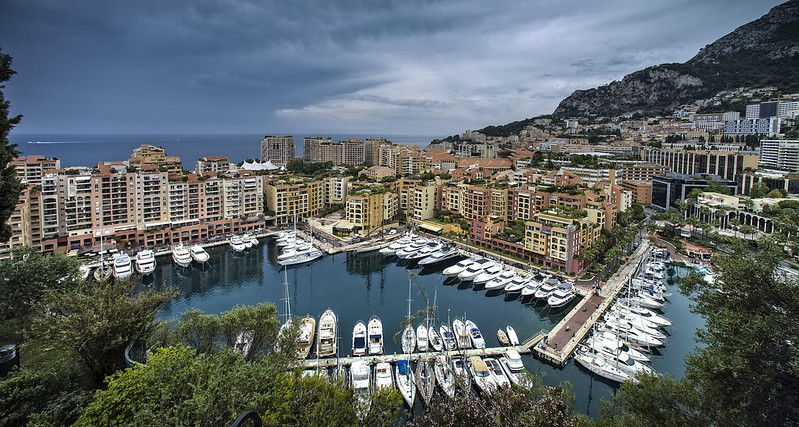 Monaco. Fontvieille district.