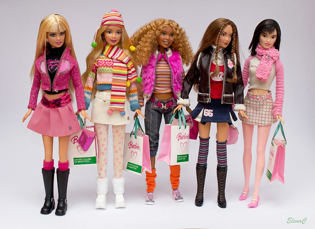 Barbie Loves Benetton - Prima serie (Autunno/Inverno 2005)