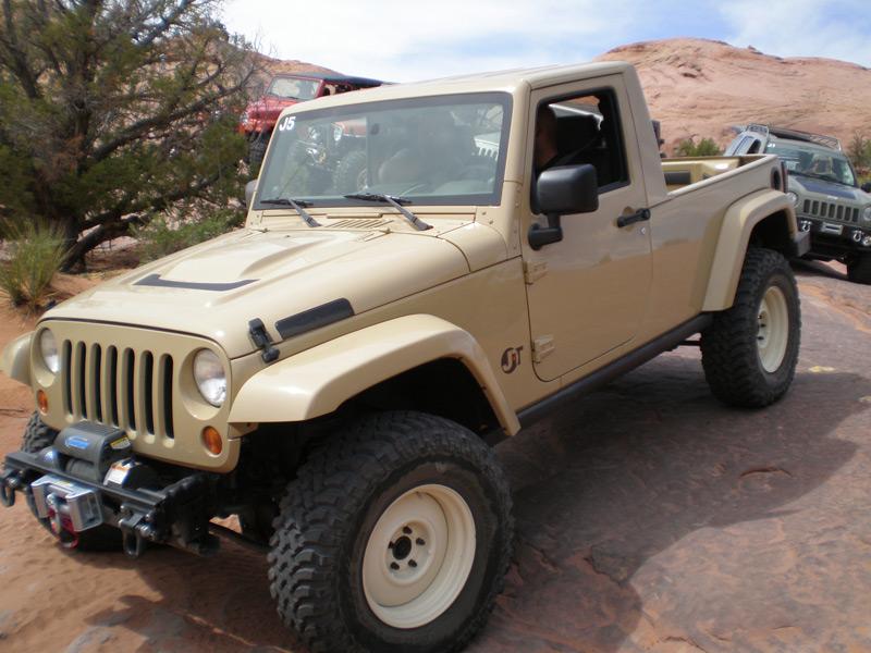 2007 Jeep Jk Pickup Truck Conversion Jt