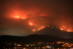 Wildfires in San Diego - 2007