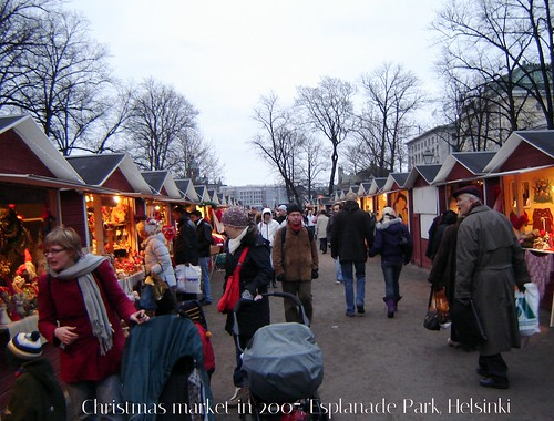 At St. Thomas' fair, Helsinki