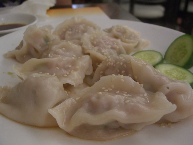 Pork and Green Tea Dumplings - Ten Ren Tea | 绿茶水饺 Pork ...