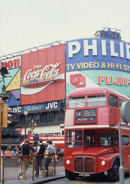 London in 1982