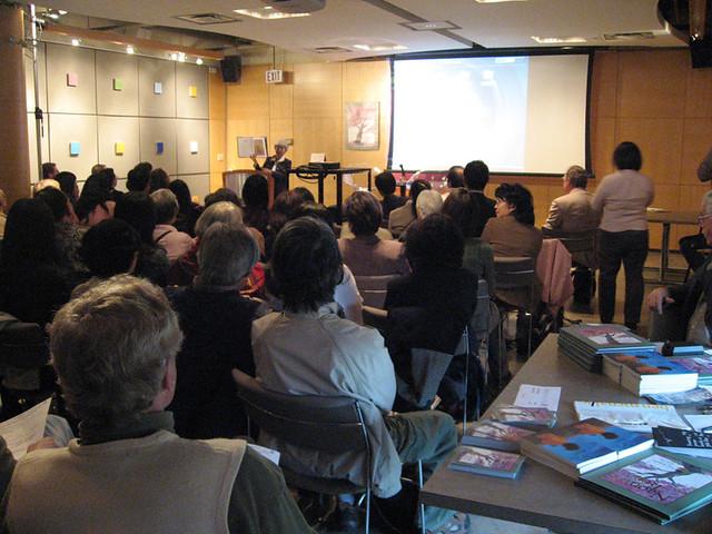 Launch for Naomi's Tree | Joy Kogawa speaks to the audience
