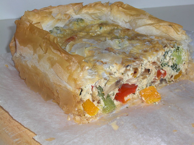 Vegetable and Ricotta Filo Pie | My recipe blog has the deta ...