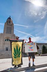 Cannabis Rally in Lincoln, NE (1)