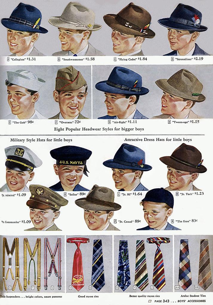 1944 ...dapper lids!
