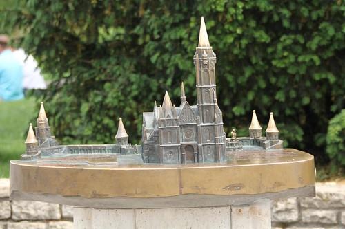 Modellino della chiesa di San Mattia