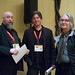 Small photo of Warren Ellis, Daniel Suarez and Bruce Sterling