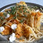 Pesto-Rezepte: ©Spaghetti mit Möhrenpesto