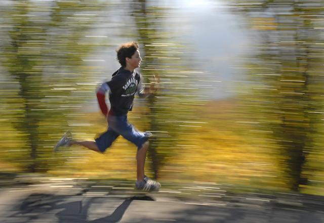Run light shot
