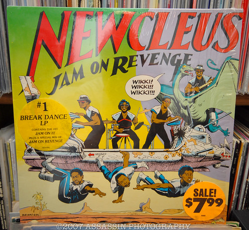 Newcleus LP with Jam On It