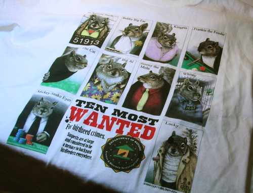 Ten Most Wanted - Bad Squirrels