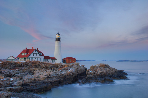 sunset coast maine explore le phl atlanticocean hdr seacoast portlandheadlight cascobay 3exp loneexposure forkurt awardflickrbest bdp:lighthouse=phl bdp:places=maine
