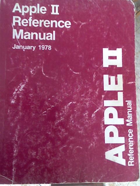 Portada Manual Referencia Apple II