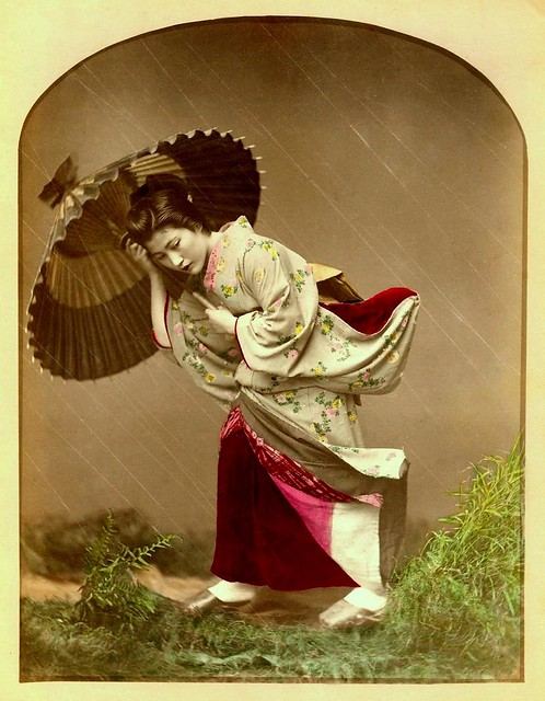 SPECIAL EFFECTS GEISHA (2) -- Caught in the Rain