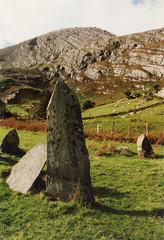 Drumminboy (Shronebirrane) stone circle, County Kerry