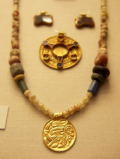 anglo saxon necklace museum by kotomi