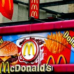 McDonalds Dollar Menu, Greenwich Village, New York City, New York, United States of America