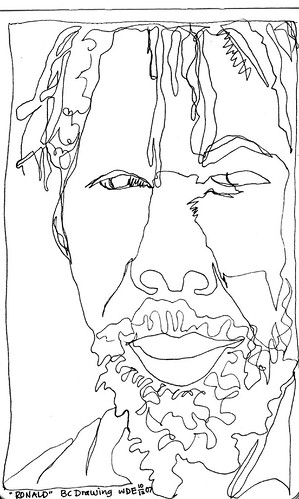 Contour Line Drawing Zone : The gallery for gt blind contour drawing famous artists
