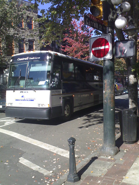 West Coast Express TrainBus on Carrall