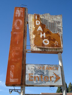 Former Idaho Motel, Pocatello, ID (by Mrs. W)