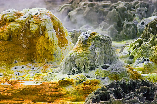 Dallol hot springs