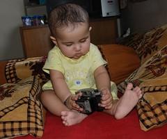 Marziya Shakir Child Born Of A Camera by firoze shakir photographerno1