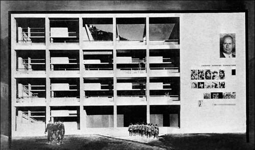 Arch giuseppe terragni casa del fascio como 1932 37 p for Giuseppe terragni casa del fascio