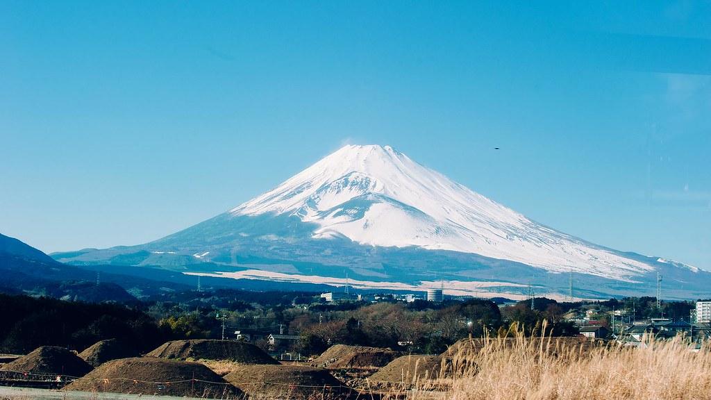 富士山_三島巴士上