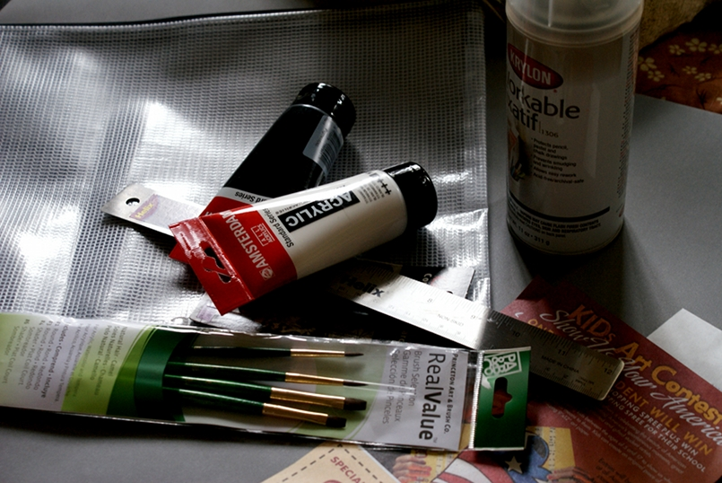 Art Supplies by vintagecat, on flickr