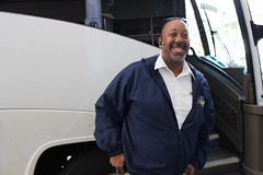 Our bus driver Carlton