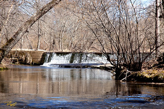 Mill dam on Cowpen Creek