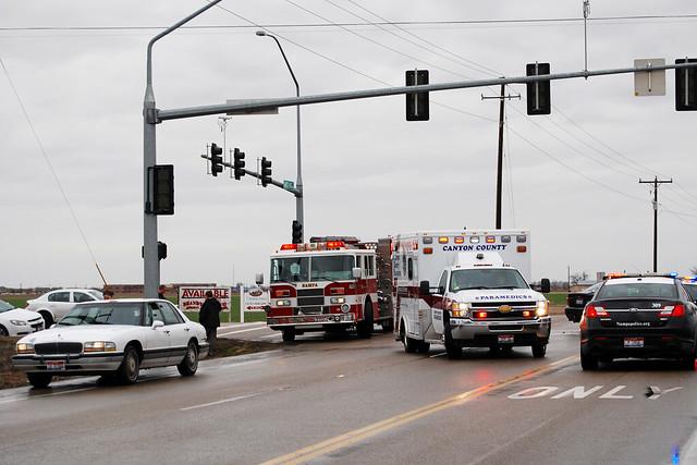 Idaho Car Accident Cement Truck
