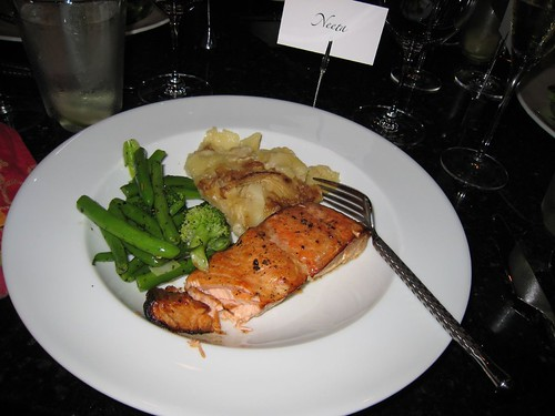 party, cedar planked salmon, salmon, loch d… IMG_0012