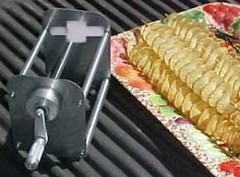 Spicy spiral cutter next to 40cm potato spirals