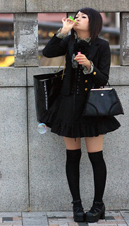 Harajuku Girls 12 - A Single Bubble