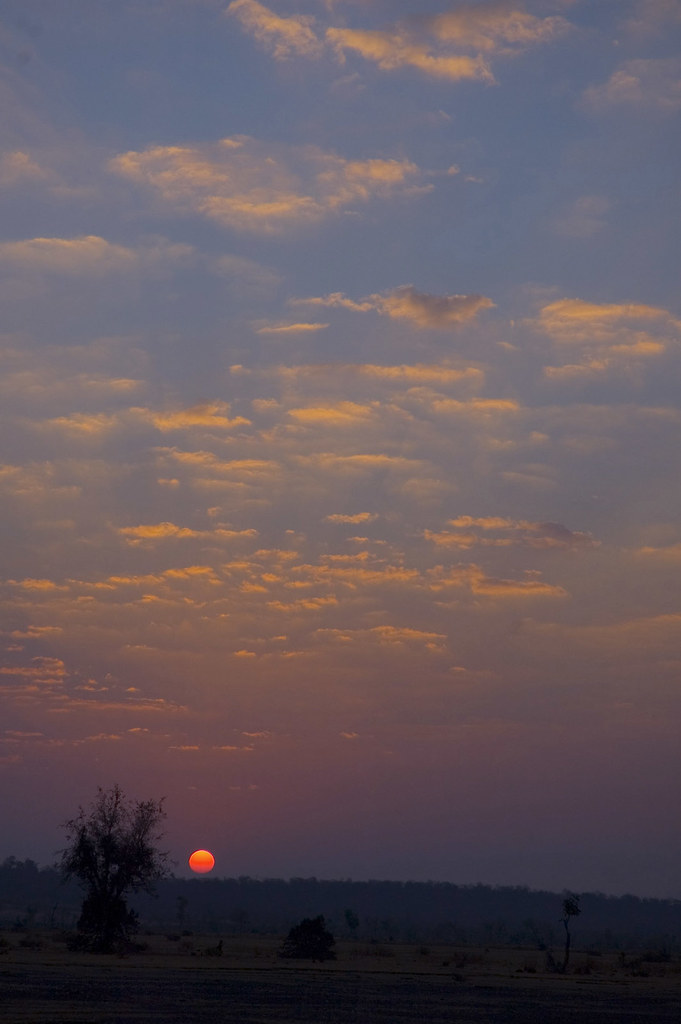 Rajasthan sunset