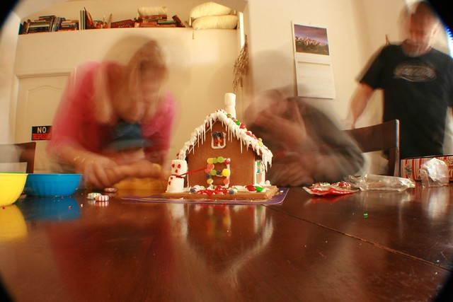 Ginger Bread House In Motion