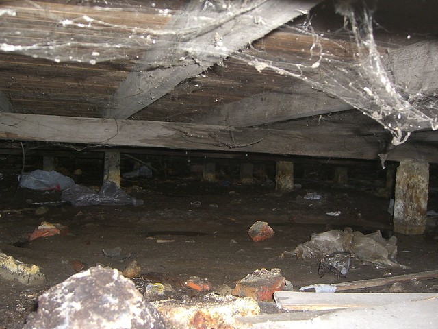 Crawl space definition meaning for What does crawl space foundation mean