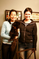 sachi, her cat, and rachel    MG 8201
