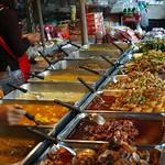 Thai Curries at Krabi Night Market - Thailand