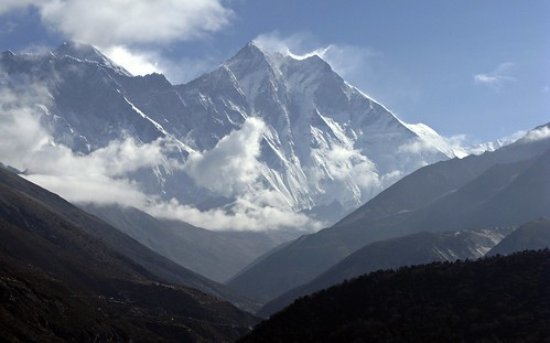 mount everest is the highest mountain on the earth