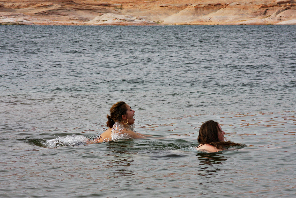 Swimming in Lake Powell