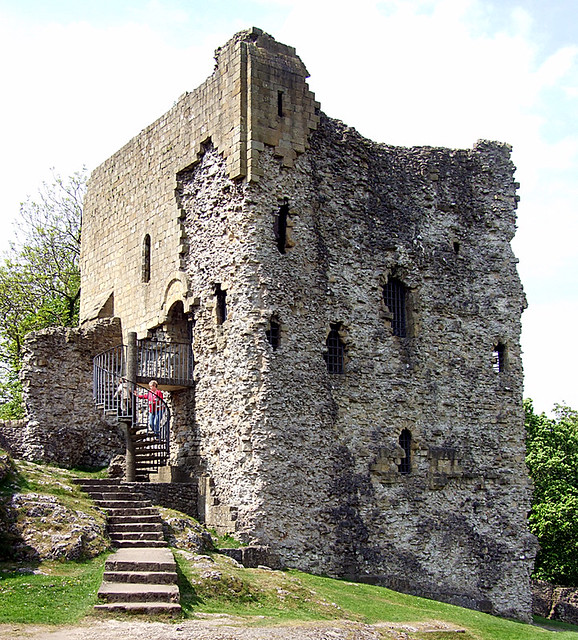 Norman (Angevin) Keep - Peveril Castle